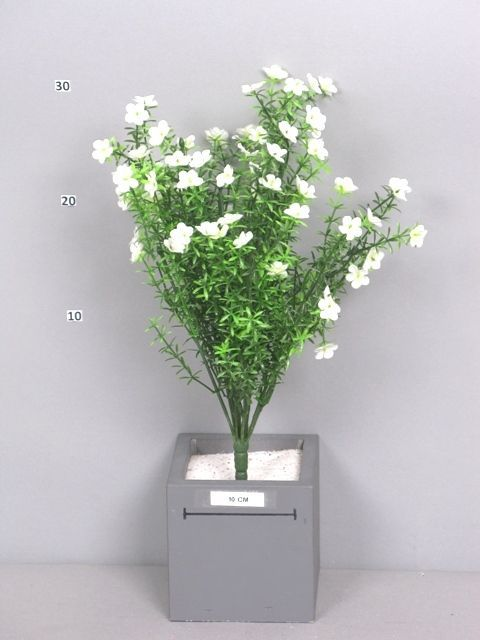 Close2real flower branch white waxhaw 45cm yourdutchliving close2real waxflower bush eve cream 45cm 45cm synthetics white mightylinksfo