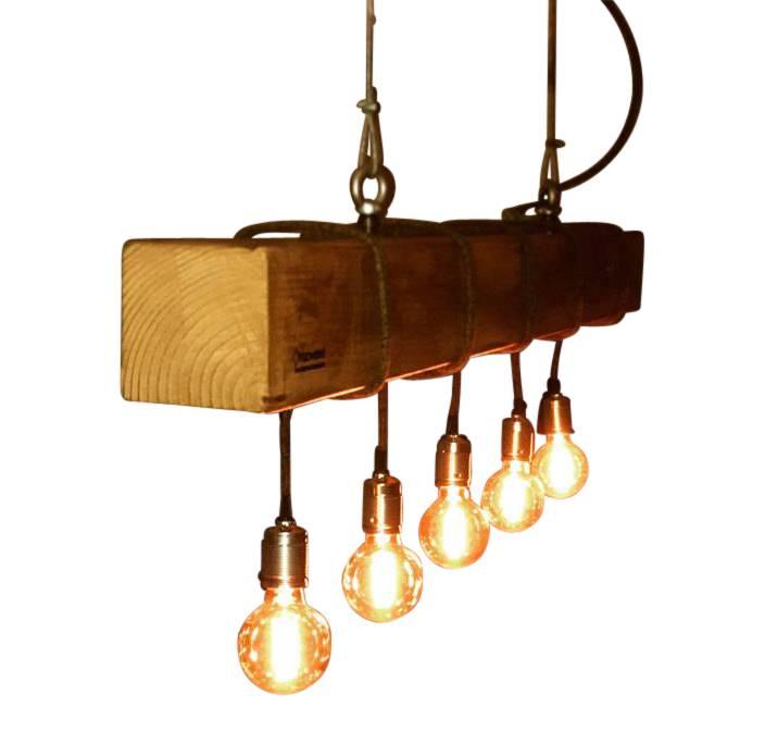 Yucwood Verlichting Hanglamp Douglas One Bruin - YourDutchLiving ...