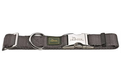 Hunter Hunter halsband vario basic alu-strong grijs