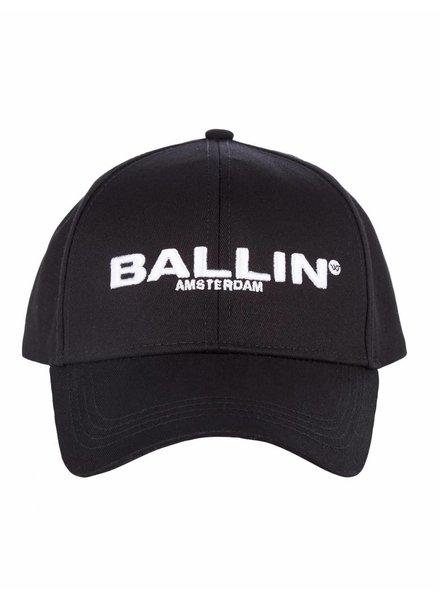 BALLIN Amsterdam BALLIN Amsterdam Baseball Cap Zwart