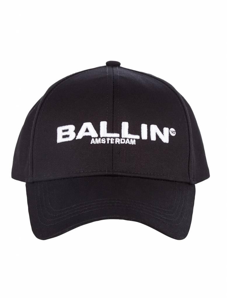 BALLIN Amsterdam Baseball Cap Black