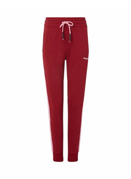 Ballin Amsterdam Striped Joggers Bordeaux / Roze Dames