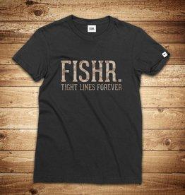 FISHR. Classic Shirt Black Sandbank Camo