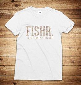 FISHR. Classic Shirt White Sandbank Camo