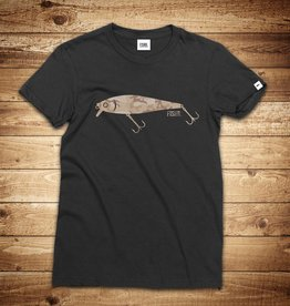 FISHR. Wobbler Shirt Black Sandbank Camo