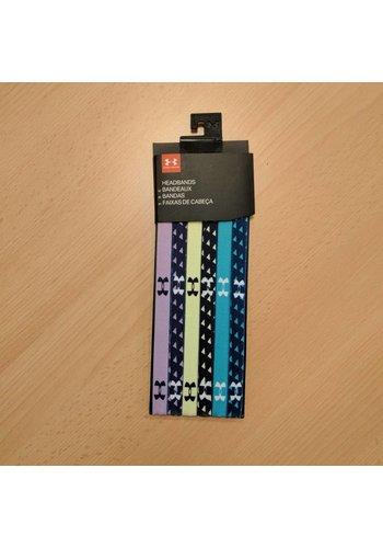 Under Armour UA Graphic Mini Headbands - 6 Pack