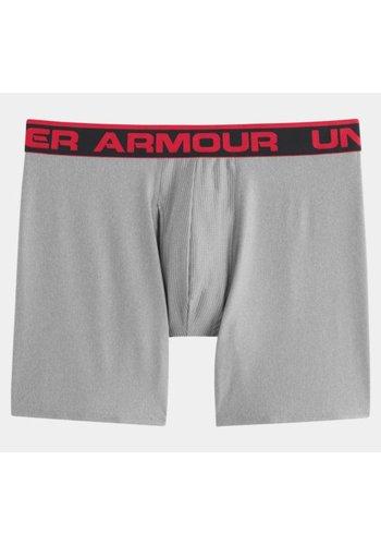 "Under Armour Under Armour Men's The Original 6"" Boxerjock Boxershort Lichtgrijs"