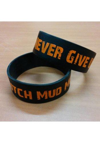 Dutch Mud Men DMM Never Give Up Polsbandje