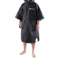 Dryrobe Advance Short Sleeve Black Blue