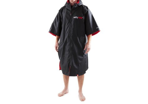 Dryrobe Shortsleeve Black-Red L