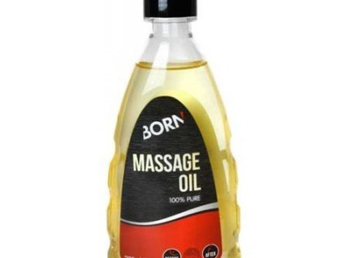 Born Born Massage Oil 100% Pure
