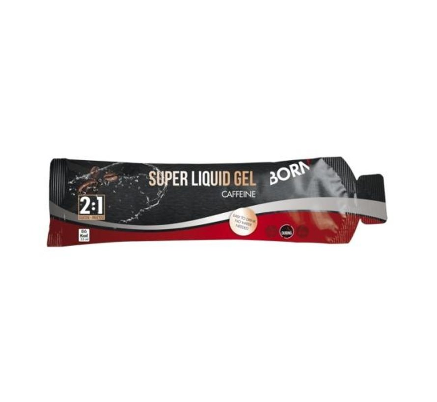 Born Super Liquid Gel - Geschmack: Koffein