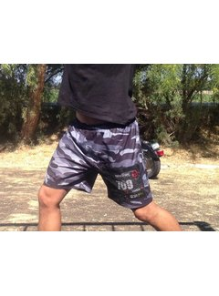 X-Racewear Camo X-Racewear Running Short With Zip Bib Protector