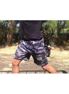 X-Racewear X-Racewear Shorts met startnummervak Camouflage