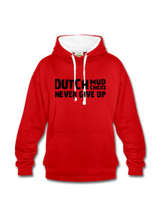 Dutch Mud Men Dutch Mud Chicks Sweater (2016) Rood