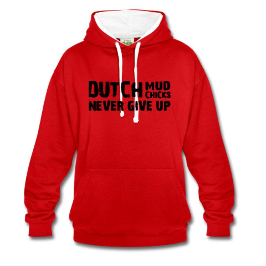 Dutch Mud Chicks Pullover (2016) Rot