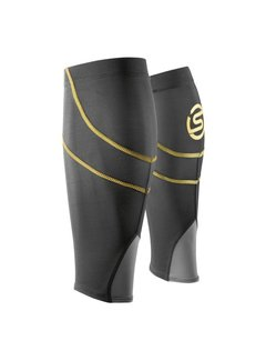 Skins Skins Calf Tights Compression Tubes Black-Yellow