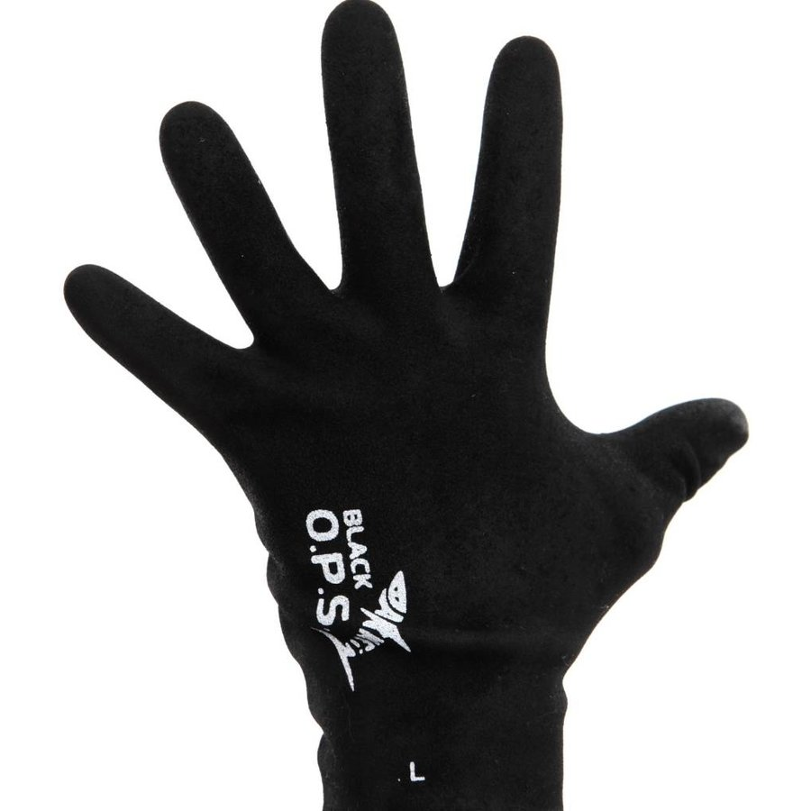 Darkfin Black OPS Gloves Ladies