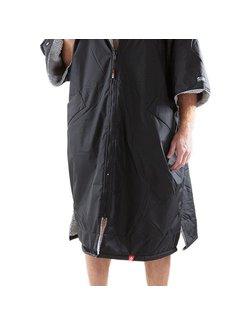 Dryrobe Dryrobe Advance Shortsleeve Zwart/Grijs