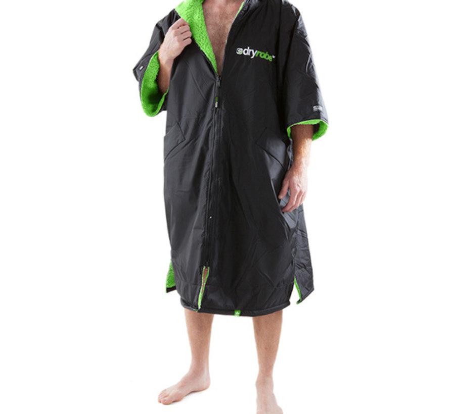 Dryrobe Shortsleeve Black-Green-L