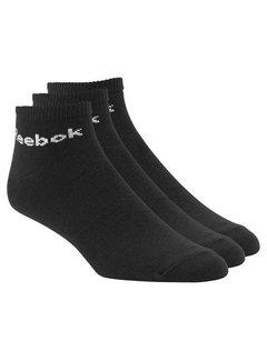 Reebok Reebok Ankle Socks Black (3 pair)