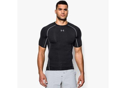 Under Armour Heatgear Kompressions Shirt Schwarz