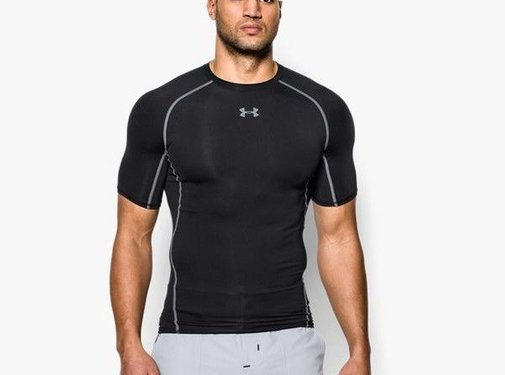 Under Armour Under Armor Heatgear Compression Shirt Black