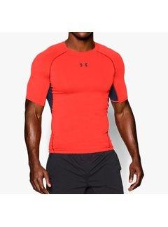 Under Armour Under Armor Heatgear Compression Shirt Bright Orange
