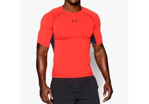 Under Armor Heatgear Compression Shirt Bright Orange
