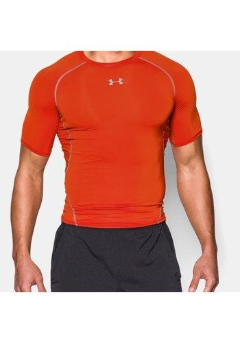 Under Armour Under Armour Heatgear Compressieshirt Donker Oranje