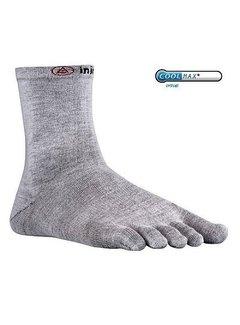 Injinji Injinji Liner Crew Coolmax Gray Toe Socks