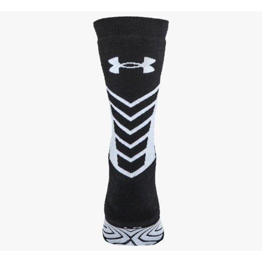 Under Armour Undeniable Crew Sokken Zwart