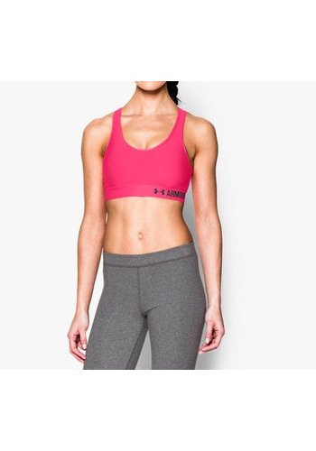 Under Armour Armour® Mid Women's Sports Bra PINK