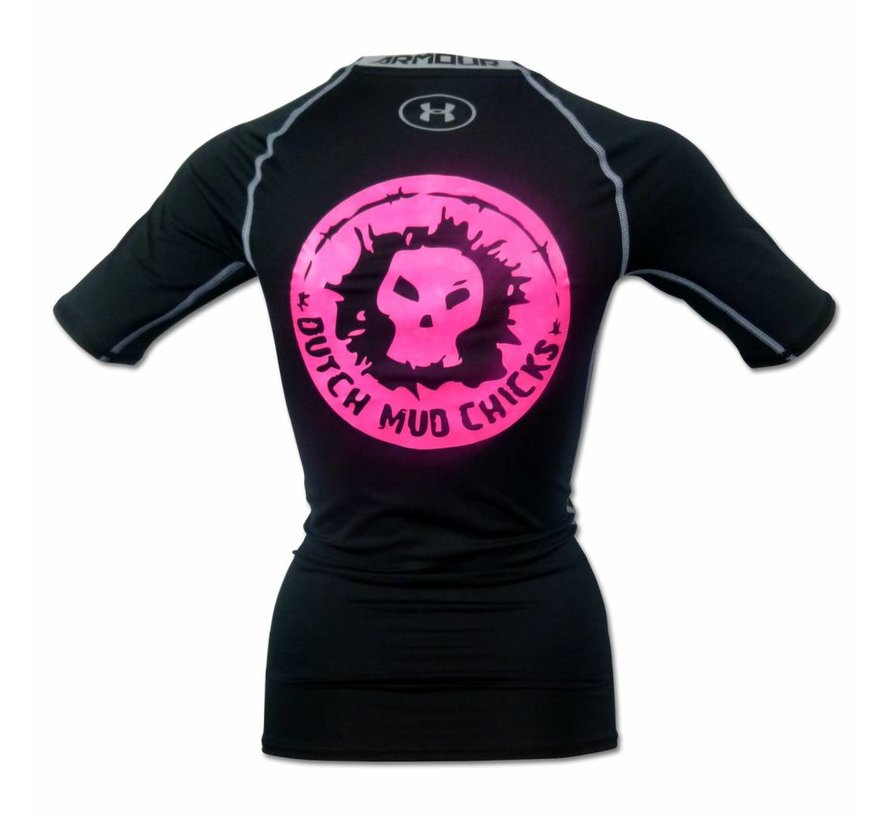 Dutch Mud Chicks Teamshirt Under Armor Compression Black