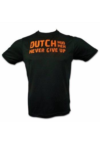 Dutch Mud Men Dutch Mud Men Skull Sportshirt Zwart