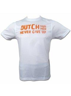 Dutch Mud Men Dutch Mud Men Skull Sportshirt Weiß