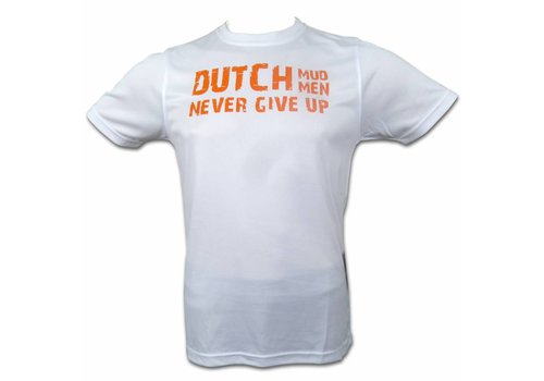 Dutch Mud Men Skull Sportshirt White