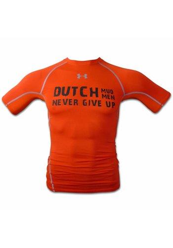 Dutch Mud Men Dutch Mud Men Teamshirt Oranje Under Armour Compressie
