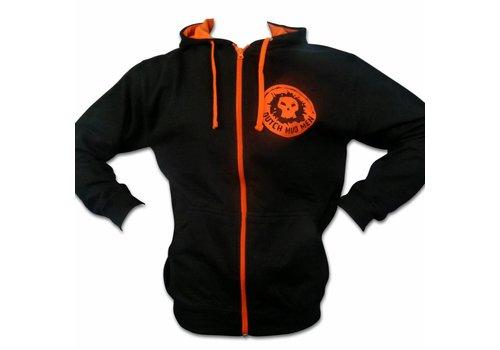 Dutch Mud Men Vest Zwart/Oranje