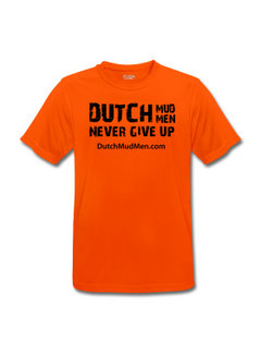 Dutch Mud Men DMM Sporthemd Orange