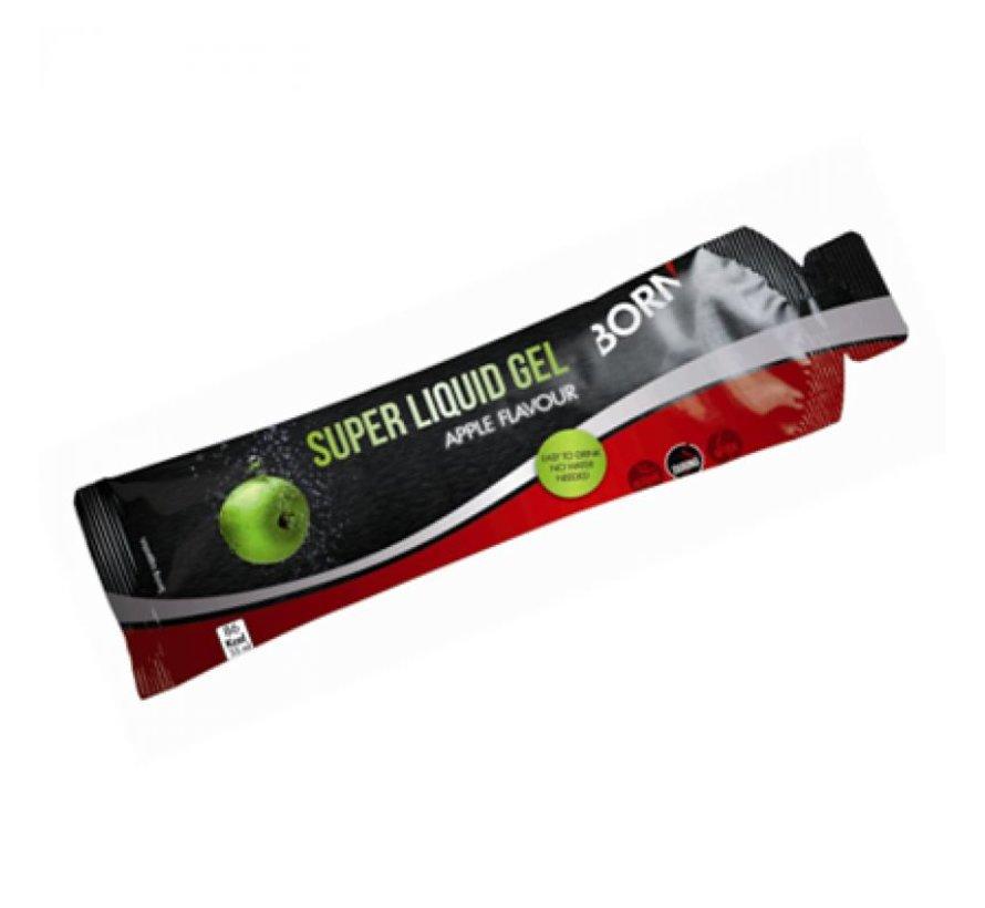 Born Super Liquid Gel - Smaak: appel