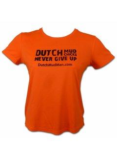 Dutch Mud Men Dutch Mud Chicks Skull Orange