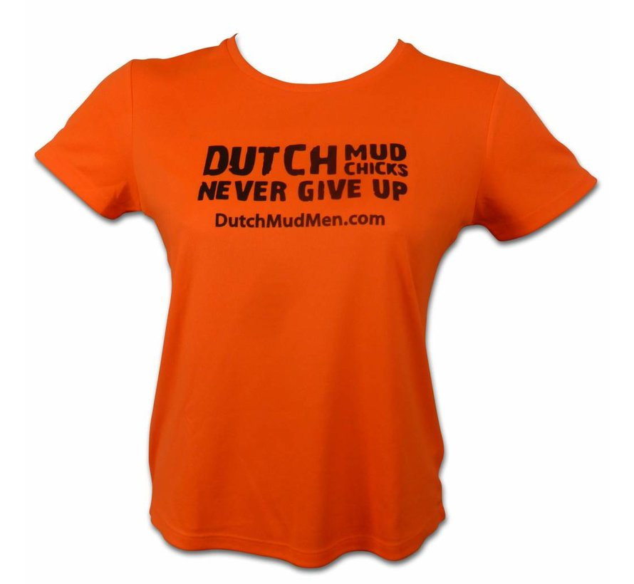 Dutch Mud Chicks Skull Oranje