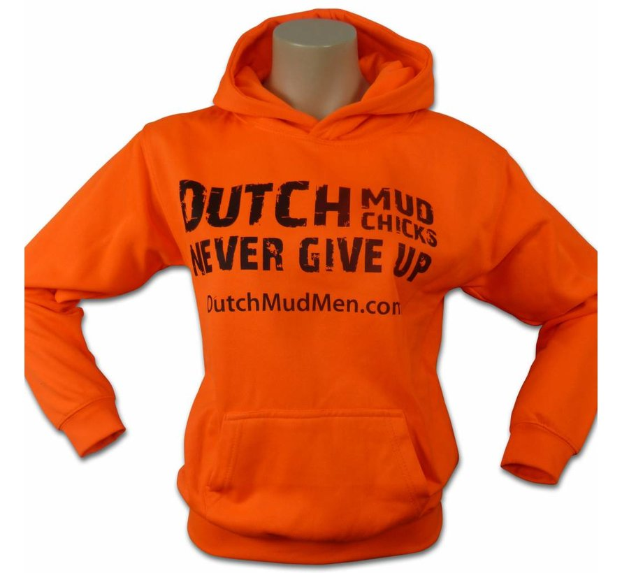 Dutch Mud Chicks Pullover Orange (Limited Edition
