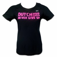 Dutch Mud Chicks-Teamshirt unter der gepaßten Rüstung