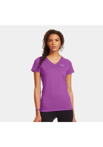 Under Armour Maat XS Under Armour Tech Short Sleeve V-Neck