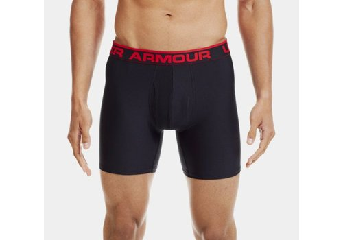 Under Armour Boxershort Zwart-Rood
