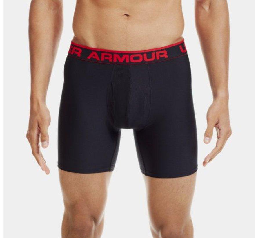 Under Armour Boxershort Zwart-Rood