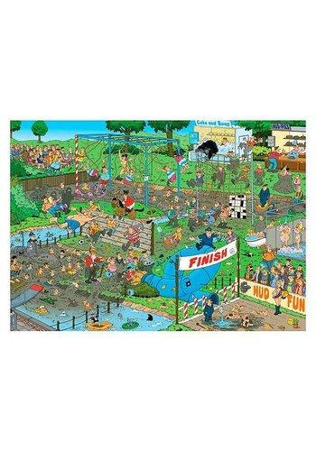 Jumbo Mudrace puzzle