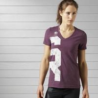 Reebok Spartan Race T-shirt van gemengd materiaal